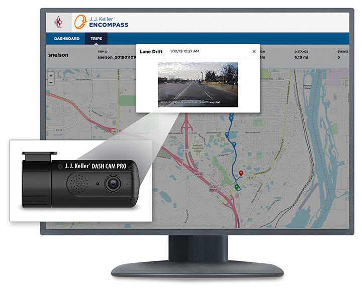 Encompass Dash Cam Pro Video Event Management Solution